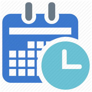 time line formats calendar