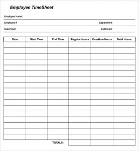time sheets template employee timesheet template