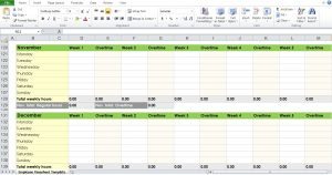 timesheet template word yearly timesheet template excel