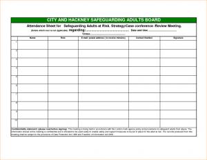 to do list templates word meeting attendance sheet