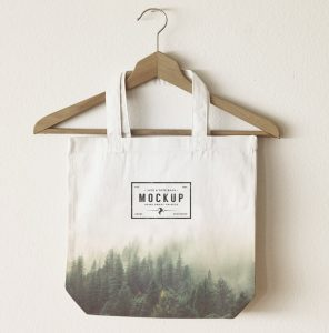 tote bag template free jute bag logo mockup