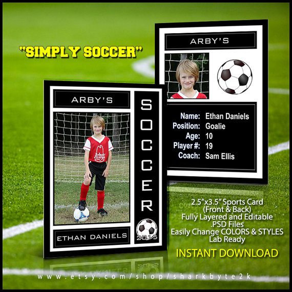 trading card templates