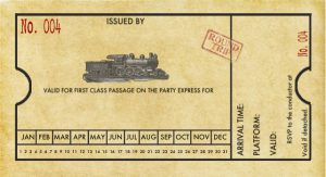 train ticket template traininvitation final