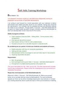 training manual examples soft skills training workshops
