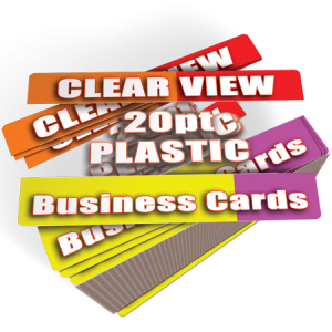 transparent business cards clear plastic business cards