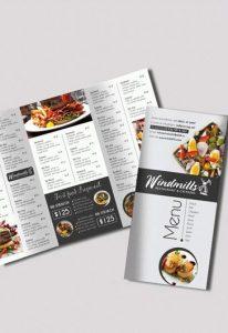 tri fold menu smallpreview restaurant menu free psd tri fold psd brochure template