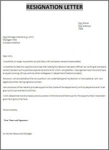 two week notice letter template fill in blank resignation letter awesome example of resign letter resumes basic