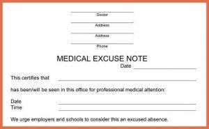 urgent care doctors note template urgent care doctors note template doctors notes