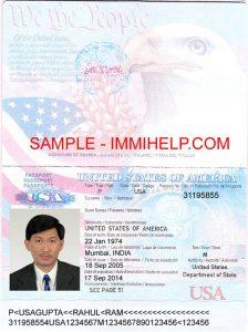 us passport photo template sample usa passport