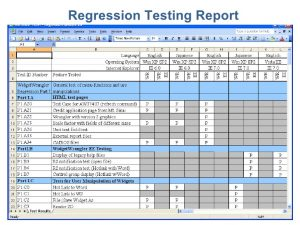 use case document essential software inc regression testing