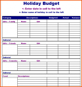 vacation budget planner vacation budget planner