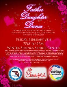 valentine day flyer fatherdaughterdance