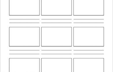 video storyboard template video storyboard template