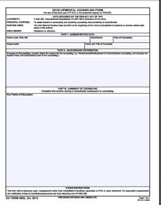 volunteer forms templates da form