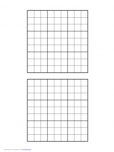 waiver form template sudoku grid d