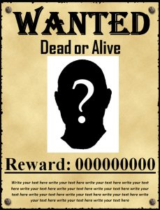 wanted poster template wanted poster template free