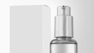 water bottle mockup beauty glass bottle serum x