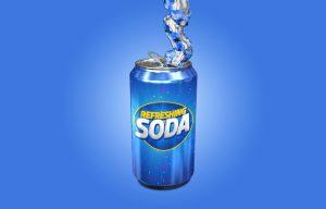 water bottle mockup free soda can mockup x