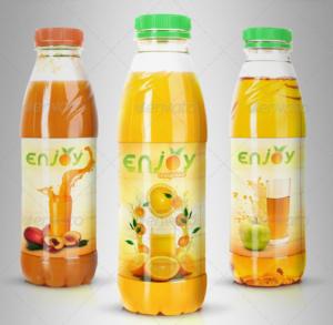 water bottle mockup juice or tea bottle mockup