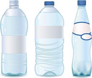 water bottle template vector water bottle template