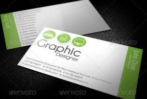 web designer business card simple graphic designer business card