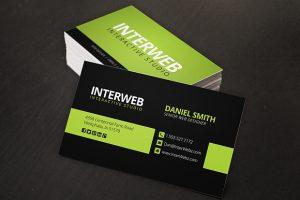 web designer business card web design business card template f