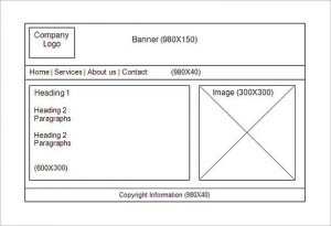 website storyboard template online page website story board template example