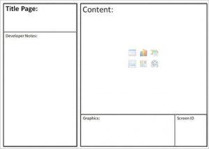 website storyboard template simple website storyboard template sample
