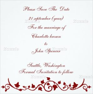 wedding announcements template simply designed wedding announcement template for download