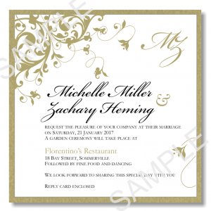 wedding announcements template wedding invitation templates