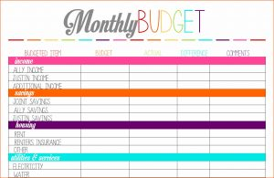 wedding checklist excel budget sheet printable