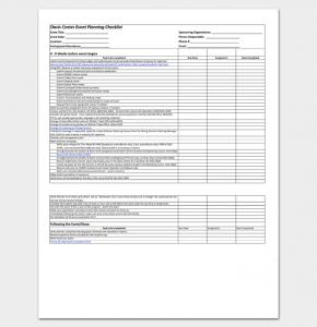 wedding checklist excel event planning worksheet