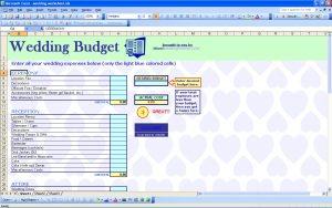 wedding checklist excel wedding budget template free