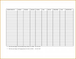 wedding list templates fundraiser template