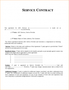 wedding order of service template contract for services template service contract template