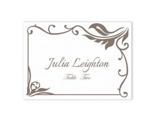 wedding place card template place cards wedding place card template diy editable printable place cards elegant place cards gray place card tented place card