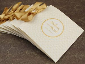 wedding program fan template editorial landing page ak
