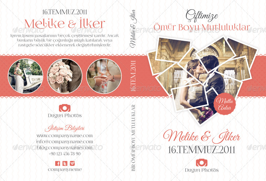 wedding program template free