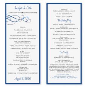 wedding program template word il xn mlz