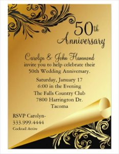 wedding reception program template wedding anniversary party program template
