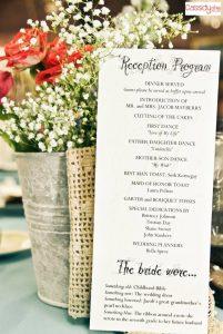 wedding reception timeline template bfeaffaeedd wedding reception program ideas wedding programs
