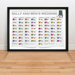wedding thank you example nif horse racing sport wedding seating table plan