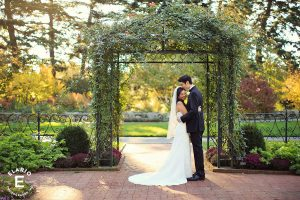 wedding thank you to parents new york botanical garden wedding photos