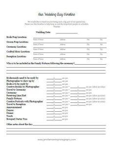 wedding timeline template dffadcdbdaea wedding schedule wedding day timeline