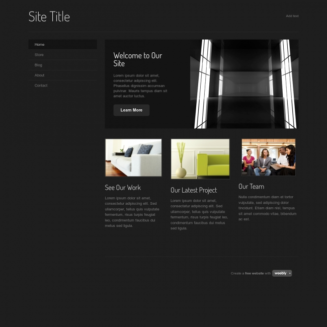 weebly website templates