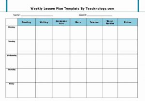 weekly lesson plan template pdf basic preschool lesson plan template
