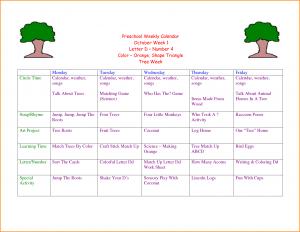 weekly lesson plan template word preschool weekly lesson plan aabefefdddee