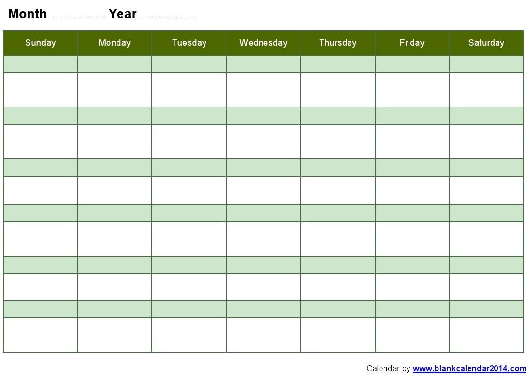weekly schedule template word