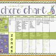 weekly to do list templates chore chart for adults chorechart