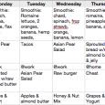 weekly weight loss chart screen shot at pm